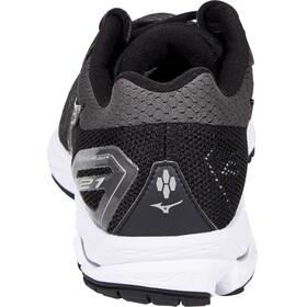 Mizuno Wave Rider 21 Shoes Women Black/Black/Silver